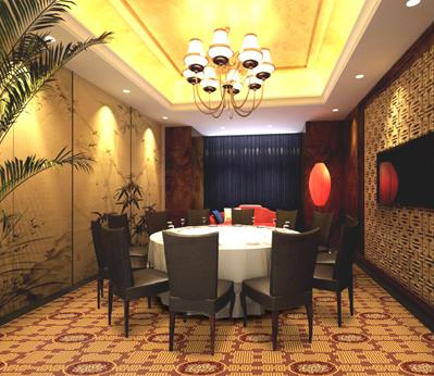 雅尔居餐厅宴会厅地毯39