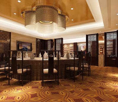 雅尔居餐厅宴会厅地毯54