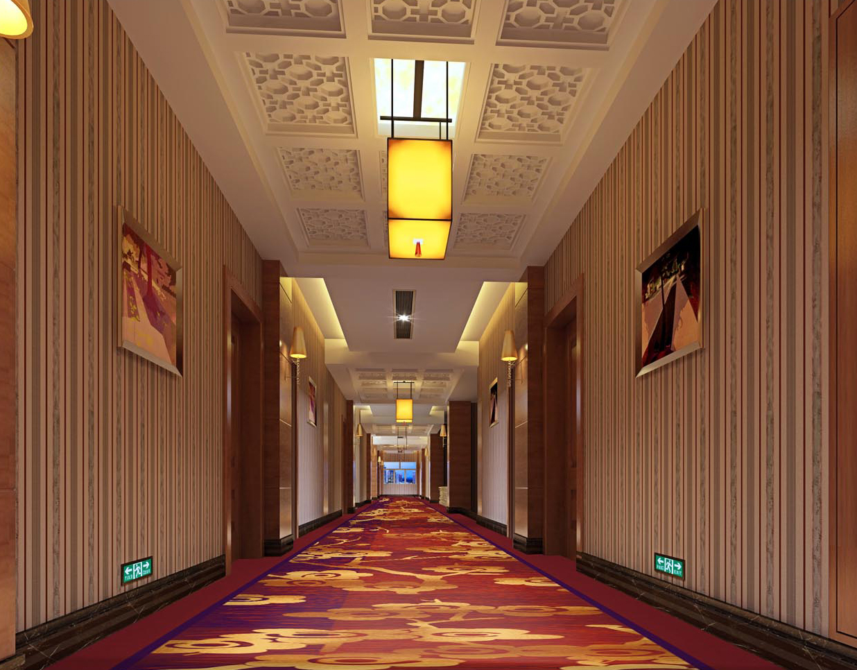 雅尔居酒店走道地毯64