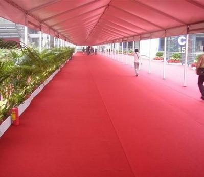 雅尔居展会地毯1