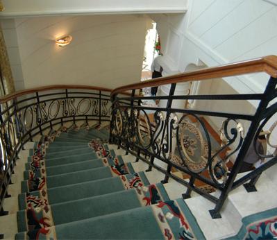 楼梯手工地毯01