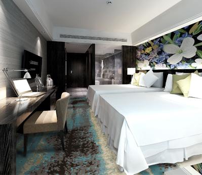 雅尔居酒店客房地毯74