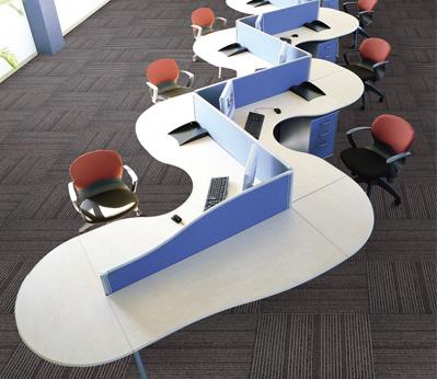 办公室方块地毯yej-yad2系列